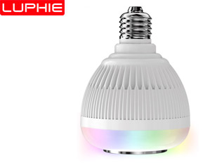 AC100-240V E27 Smart Wireless Bluetooth Speaker Music Playing LED RGB Music Bulb