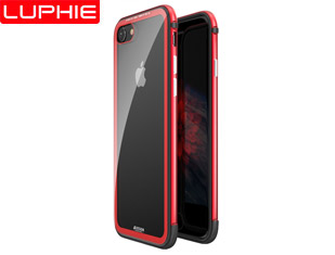 I7/8 LUPHIE AMBILIGHT  TPU+ Aluminum & Glass Tempered Glass Back Cover Case