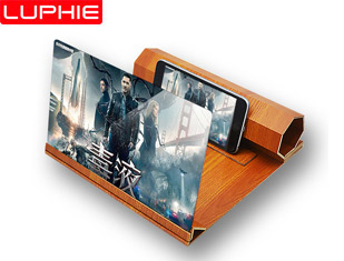 High Definition Wooden Mobile Video Screen Magnifier
