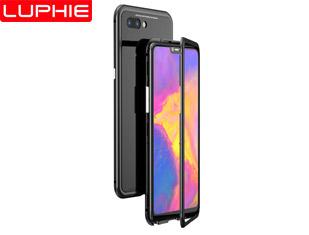 OPPO R15 MAGNETO Original Brand-New Magnetic Aluminum Metal Frame Tempered Glass Back Cover Case