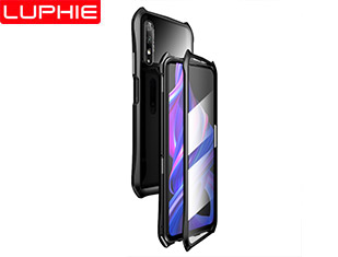 For Honor 9X Batman design double-Sided Tempered Glass protection without screen protector film.