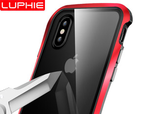 New Design Mangnetic Cell Phone Case with Slim Metal Bumper And Tempered Glass for Iphone Xs/Xs Max