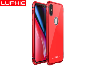iphone X 5 in 1 Plastic frame + acrylic back cover case 100% original luxury case